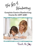 The Joy of Handwriting - A Complete Cursive Program