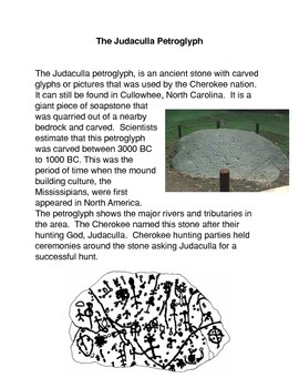The Judaculla Petroglyph