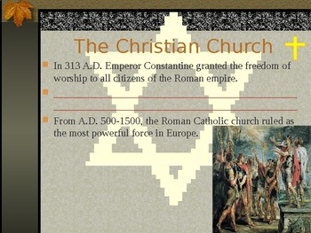 The Judeo-Christian Tradition-Student copies of PPT included