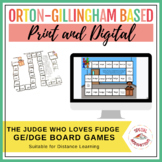 The Judge Who Loves Fudge! (a ge/dge board game) Orton-Gil