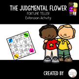 The Judgmental Flower by Julia Cook Fortune Teller Extension Activity