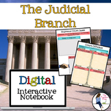 The Judicial Branch Interactive Notebook for Google Drive