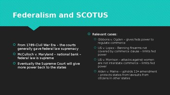 The Judicial Branch PPT (AP US Government)