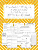 The Julian Chapter: A Wonder Story by RJ Palacio Novel Study Unit