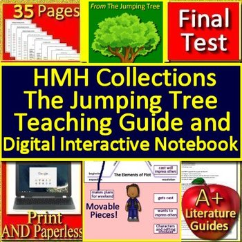 The Jumping Tree 6th Grade HMH Collections - HRW - Interactive Notebook and Test