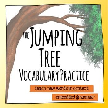 the jumping tree by rene saldana