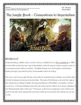 The Jungle Book (2016)- Imperialism In Film