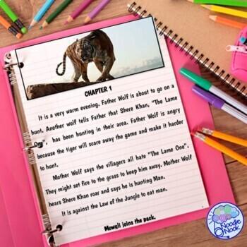 The Jungle Book- An Adapted Novel from NoodleNook.Net