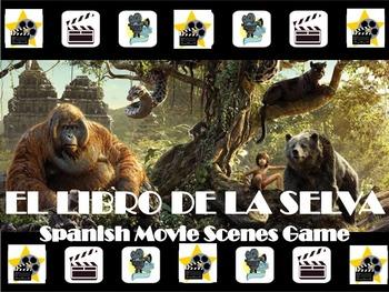 The Jungle Book Fun Spanish Movie Scenes Electronic Game - El Libro de la Selva