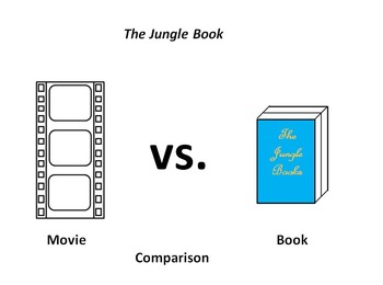 The Jungle Book Movie and Novel Comparison