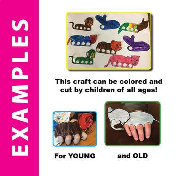The Jungle Book: Mowgli's Story - SL Jungle Animal Craft - Finger Puppets