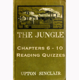 The Jungle By Upton Sinclair Chapters 6-10 Reading Quizzes Canvas/Schoology