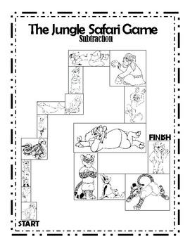 The Jungle Safari Subtraction Game