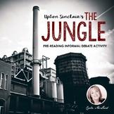 The Jungle, Upton Sinclair: Pre-Reading Informal Debate Activity