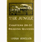 The Jungle by Upton Sinclair Chapters 11-15 Reading Quizzes Canvas/Schoology