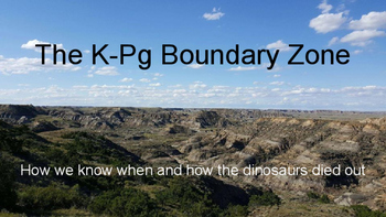 The K-Pg (K-T) Boundary Zone: How we know when and how the dinosaurs died out