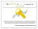 """Key Signatures and Scales - """"The KEYS to Success"""" - Clarin"""