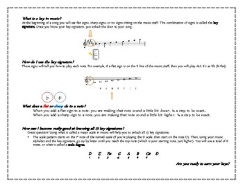 "Key Signatures and Scales - ""The KEYS to Success"" - Saxophone Workbook"