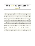The KEYS to Success - Trumpet Performance Scale Sheet