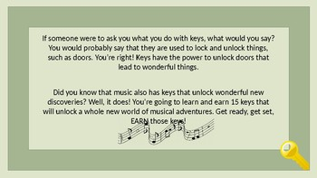 The KEYS to Success in Band! - PowerPoint