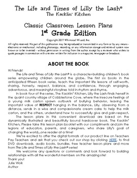 The Kacklin' Kitchen Classic Classroom Lesson Plans: 1st GRADE EDITION