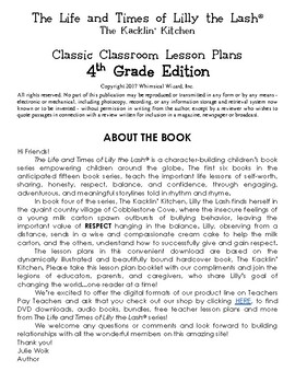 The Kacklin' Kitchen Classic Classroom Lesson Plans: 4th GRADE EDITION