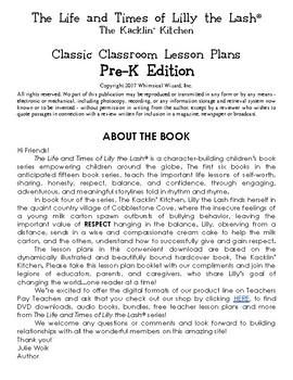 The Kacklin' Kitchen Classic Classroom Lesson Plans: PRE-K EDITION