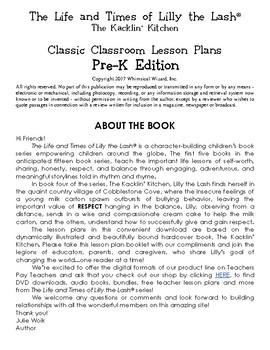 The Kacklin' Kitchen Classroom Lesson Plans: PRE-K THROUGH 5th GRADE BUNDLE