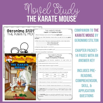 The Karate Mouse Chapter Packet