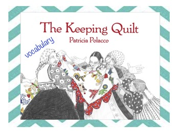 The Keeping Quilt BILINGUAL VOCABULARY CARDS by Mrs V's Creations : keeping quilt - Adamdwight.com