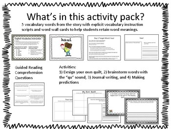 The Keeping Quilt ELA Activity Pack