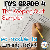 The Keeping Quilt Writing Task {freebie}