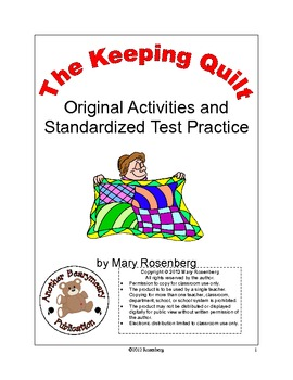 The Keeping Quilt Original Activities and Standardized Test Practice