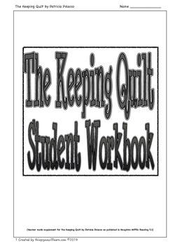 The Keeping Quilt Student Workbook
