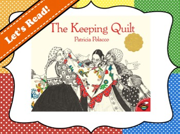 The Keeping Quilt Vocabulary Visuals (for ELLs)