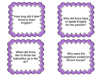 The Keeping Quilt--Whole Group Comprehension Activity & Worksheets-- Grade 3 HM
