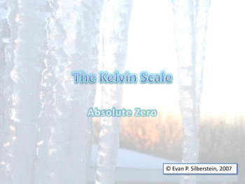 The Kelvin Scale