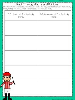 The Kentucky Derby {A CCSS Thematic Unit for 2nd-4th Grades}