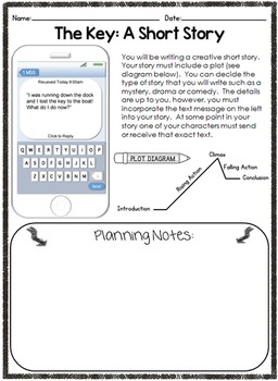 Creative Writing Short Story Starters