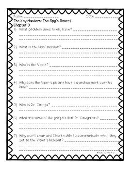 The Key Hunters: #2 The Spy's Secret