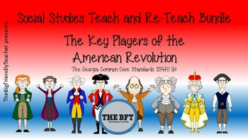 The Key Players of the American Revolution Bundle