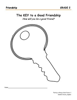 The Key to Being a Good Friend
