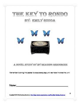 The Key to Rondo by Emily Rodda Novel Study