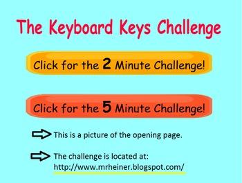 The Keyboard Keys Challenge
