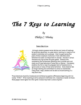 The Keys to Learning