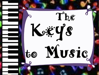 The Keys to Music ~ Music Vocabulary/Elements Word Wall