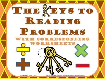 The Keys to Reading Problems
