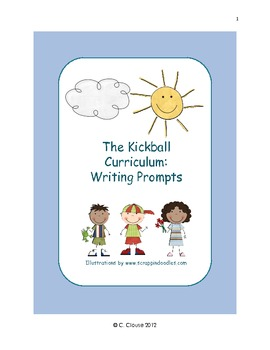 The Kickball Curriculum Writing Prompts