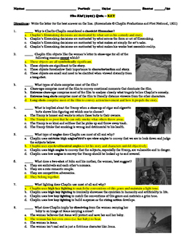The Kid Film (1921) 20-Question Multiple Choice Quiz