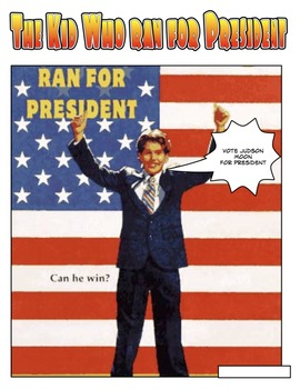 The Kid Who Ran For President Comic Book